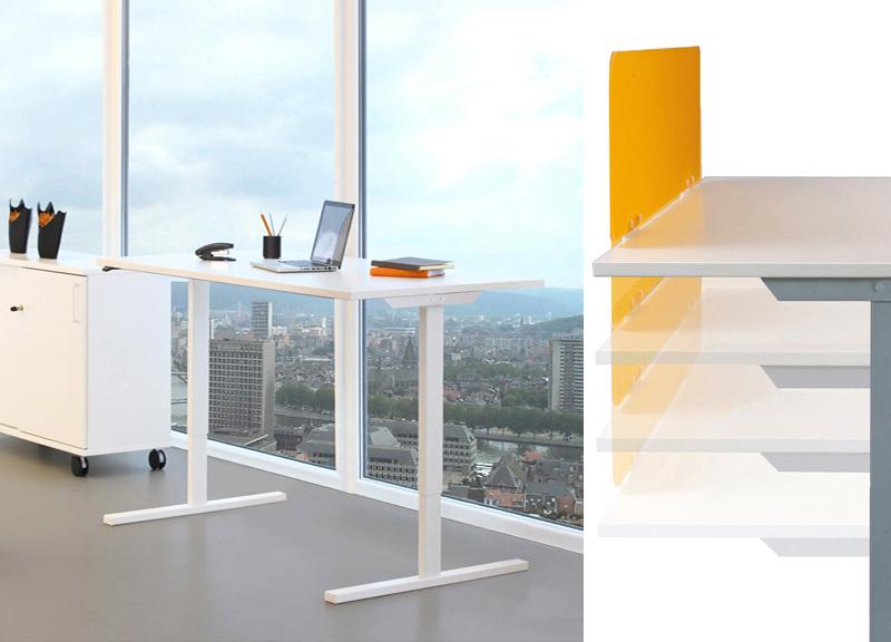 Ergonomiski biroja galdi / augstumā regulējami galdi