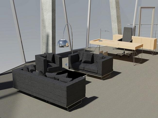 dizaina izstrāde birojiem