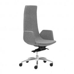 Ergonomisks, moderns vādītāju krēsls, ar šūpošanās mehānismu, augstumā reg