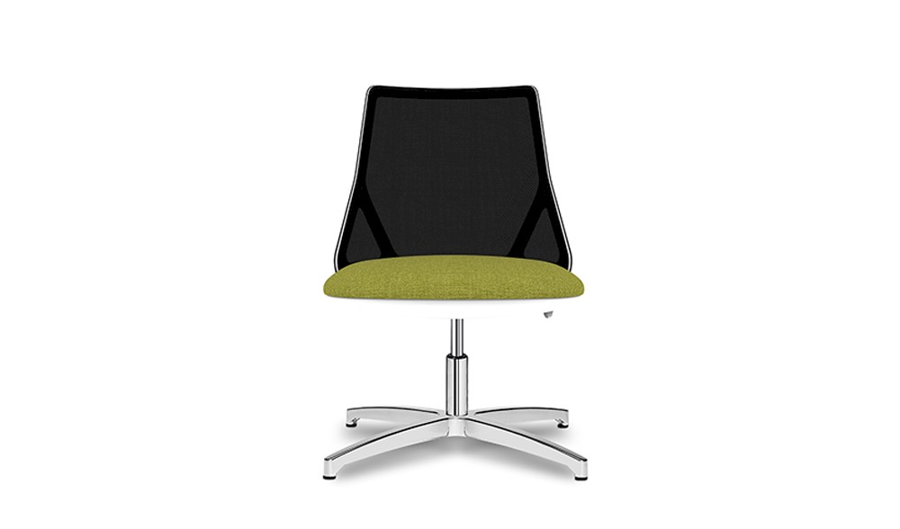 Elegant chair for waiting rooms and conference rooms.